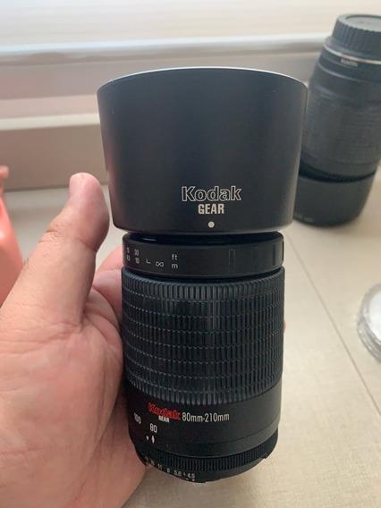 Lente Telefoto Kodak 80-210mm F4.5 5.6 Nikon
