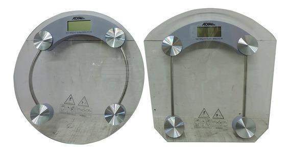 Bascula Digital Para El Cuerpo De Vidrio De 0-150 Kg