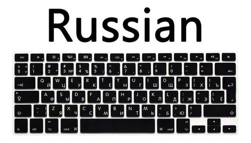 Ruso Cubierta Del Teclado Idioma  Compatible Pro    Con...