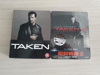 Coleção Taken Busca Implacável Blu-ray Steelbook