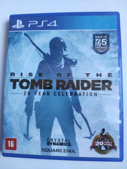 Rise Of Tomb Raider Ps4 Midia Física Semi Novo Envio Imediat