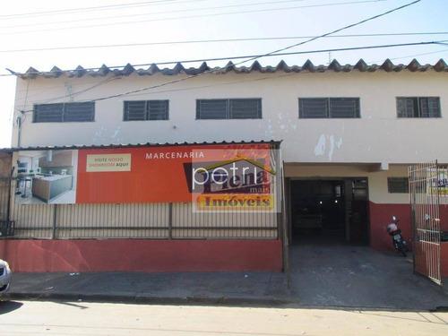 Salão Comercial Para Locação, Jardim Florida, Nova Odessa. - Sl0527