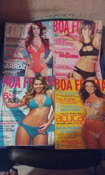 Revista Boa Forma -corpo A Corpo 05 Unidades Oferta 20 Reais