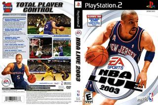 Ea Sports Nba Live 2003 Ps2