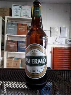 Cerveza Palermo Botella Litro Ret. Comercializadora Segurola