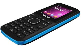 Telefone Simples Blu A100 Dual Lanterna Antena Rural Fm 1,8