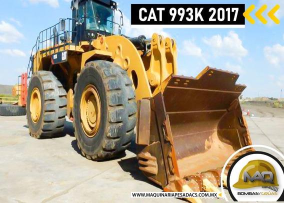 Cargador Frontal Cat 993k 2017