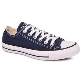Tênis Converse Chuck Taylor Ct00010003 Azul Marinho/preto