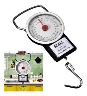 Balanza 22kg Para Pesar Todo: Granos, Harina, Especias, Sal