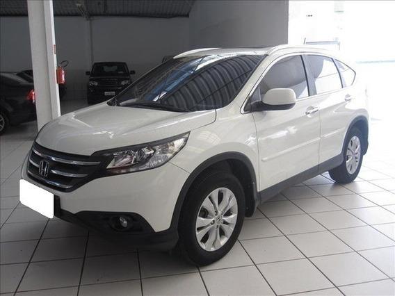 Honda Crv 2.0 Exl 4x4 Branca 16v Gasolina 4p Aut. 2012