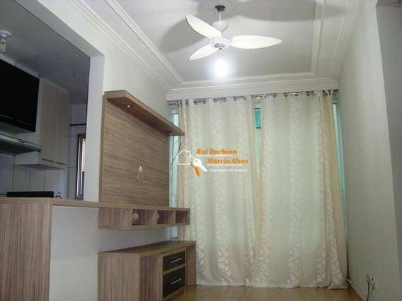Apartamento Ed. Res. Villa Bella, Com 2 Dormitórios À Venda, 46 M² Por R$ 170.000 - Nossa Senhora De Lourdes - Londrina/pr - Ap0037