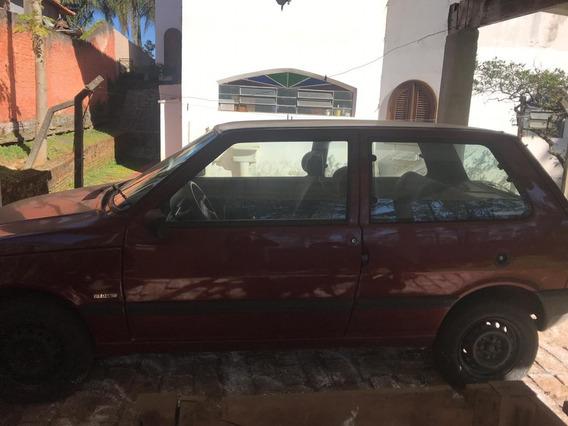 Fiat Uno Mille 1996 98000km Pneu Novo E Bateria Nova