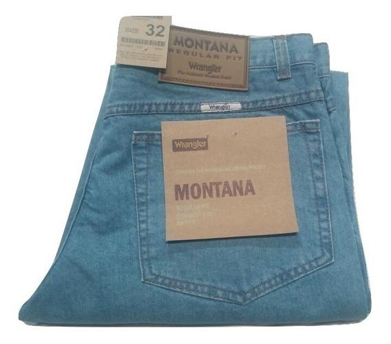 Jeans Wrangler Montana Clasicos - Rectos