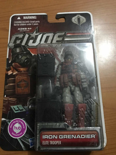 Gi Joe Iron Granadier Elite Trooper