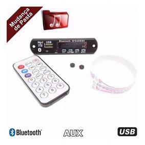 Placa Leitor De Usb Fm / Mp3 / Bluetooth / Radio Fm