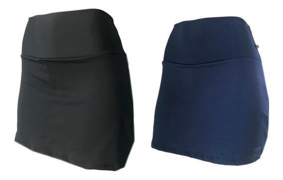 Shorts Saia Suplex Estampada Ou Lisa Academia Ginastica