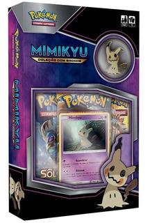 Pokémon - Coleção Com Broche Mimikyu