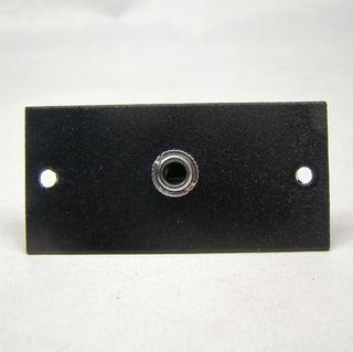 Placa P2 Estéreo Dupla Fêmea Painel / Mesa