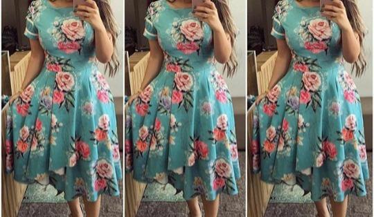 Vestido Midi Moda Evagélica