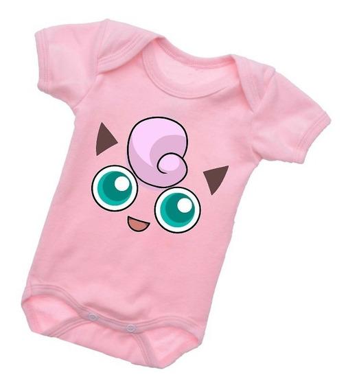 Body Jigglypuff Pokémon Bebê Criança Legal Roupinha B424rb