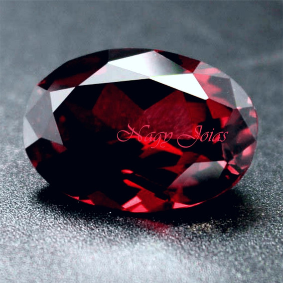 Rubi Pedra Preciosa Vermelho Rubro \ Dark Red Gems / 13,7cts