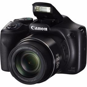 Camera Canon Powershot Sx540 Hs + Cartão 16gb Classe 10