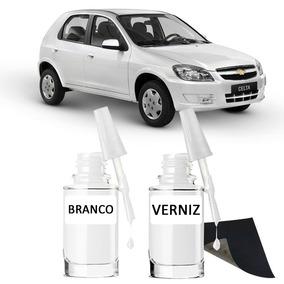 Tinta Tira Risco Automotivo Chevrolet Celta Branco Summit
