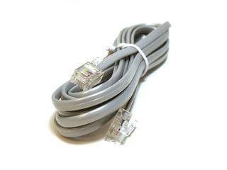 Cable Telefonico Rj-11,12 Y 45 Invertido Para Voz (14 Pzas)