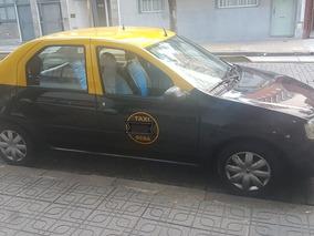 Renault Logan 2012 Taxi Con Gnc Aire Direccion Excelente!!!