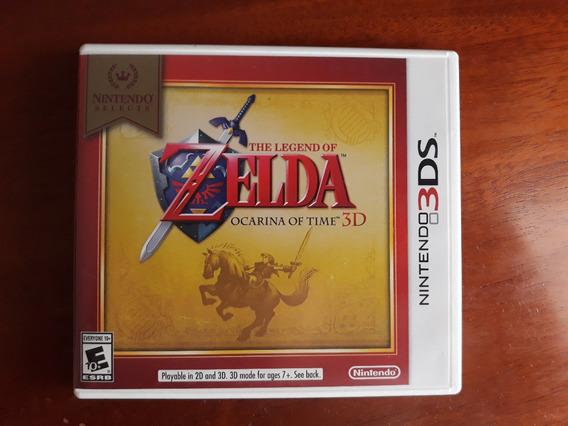 Legend Of Zelda Ocarina Of Time 3d; 3ds; Seminovo; Física