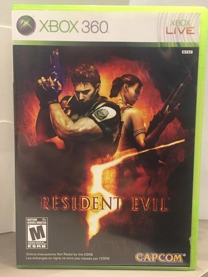 Resident Evil 5 Xbox 360 Midia Fisica Usado