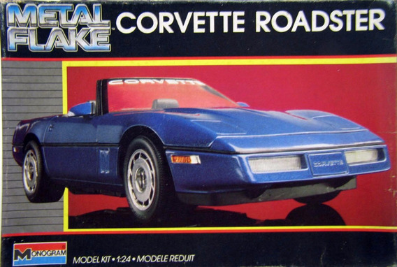 Chevrolet Corvette Roadster - 1/24 - Monogran - Metal Flake