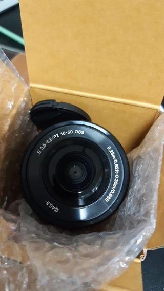 Lente Sony E Pz 16-50mm F/3.5-5.6 Oss E-mount Selp1 - Nova!