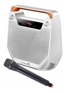 Parlante Portatil Ken Brown Microfono Bluetooth Usb Fm