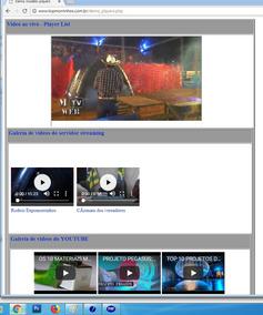 Players Para Site Com Servidor De Streaming.