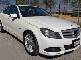Mercedes-benz C 200 2012 Exclusive Piel Qc Rines Como Nuevo