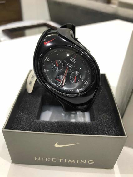 Relógio Nike Triax Swift 100 M. Preto Modelo Wr 0107