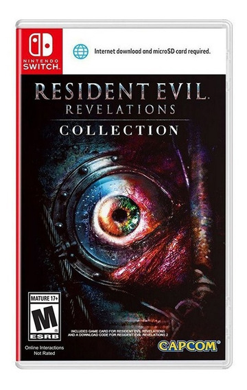 Resident Evil Revelations Collection - Switch - Novo Lacrado