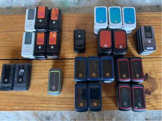 Lote 60celular Motorola Leer Descripción Em28 W5 510 W375