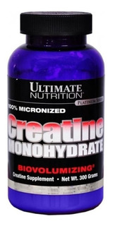 Creatine 300g - Ultimate Nutrition - Creatina Importada