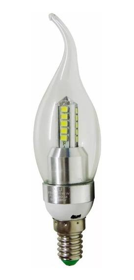 5 Lampada Vela Led E14 5w Led Com Bico Lustre E Pendente