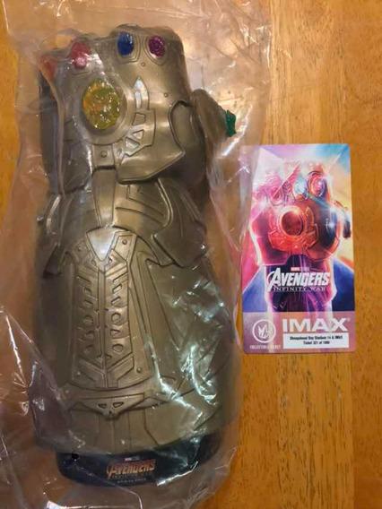 Marvel Avengers Infinity War Guante Thanos Cinemex Imax Usa