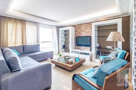 Apartamento Com 3 Dormitórios À Venda, 190 M² Por R$ 750.000,00 - Vila Caminho Do Mar - São Bernardo Do Campo/sp - Ap0742
