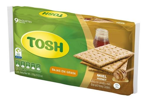 Galletas Tosh Miel 9 Paquetes