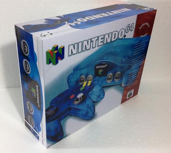 Caixa Nintendo 64 Sabores Anis De Madeira Mdf