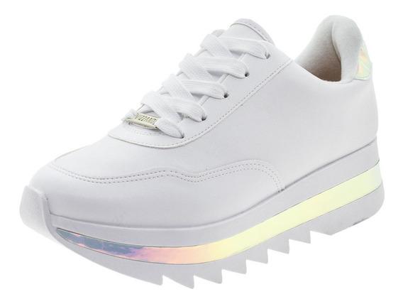 Tênis Feminino Holográfico Vizzano - 1319100 Branco