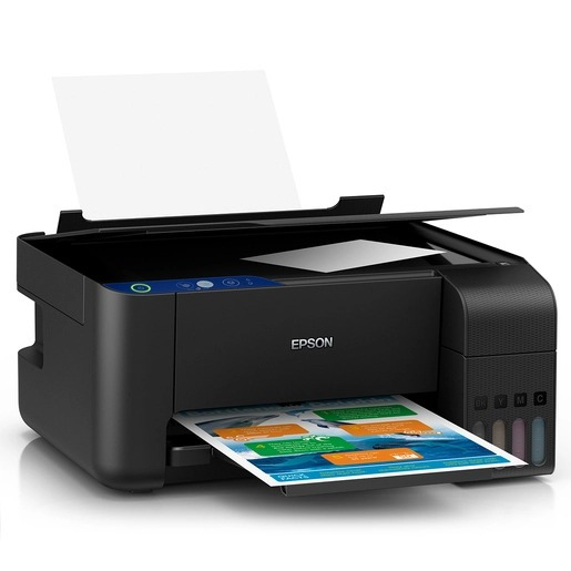 Multifuncional Epson Ecotank L3110 (tinta, Color) Imprime,co