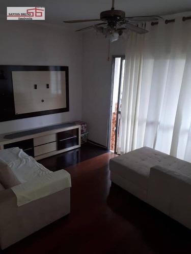 Apartamento Com 3 Dormitórios À Venda, 75 M² Por R$ 430.000,00 - Limão (zona Norte) - São Paulo/sp - Ap2340