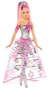 Boneca Barbie Aventura Nas Estrelas - Vestido Galáctico