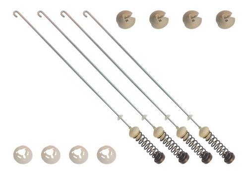 Imagen 1 de 5 de Kit Suspensión Amortiguador Lavadora Whirlpool W10780048 60